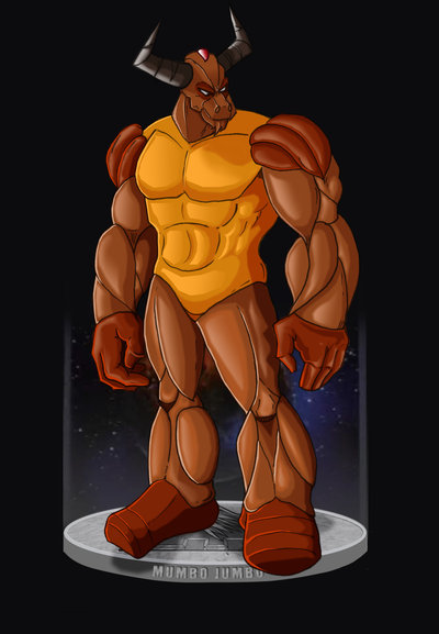 Mumbo Jumbo from SilverHawks cartoon show